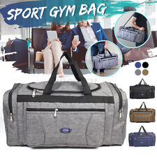 Duffle Gym Bags Large Sports Handheld Holdall Canvas Cabin Mens Travel   ** *