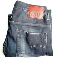 G-Star Raw Men's Size W34 L32 Blue New Radar Slim Button Fly Denim Jeans