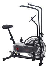 Sunny Zephyr Air Resistance Fan Exercise Bike w/ Adjustable Handlebars SF-B2715
