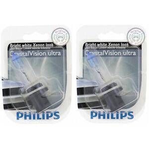 2 pc Philips 880CVB1 CrystalVision Fog Light Bulbs for 25163 Electrical vq