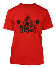Reps For Jesus - Gym Workout Exercise Fit Men's T-shirt