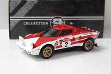 1:18 triple 9 Lancia Stratos HF rally de san remo 1974 New en Premium-modelcars