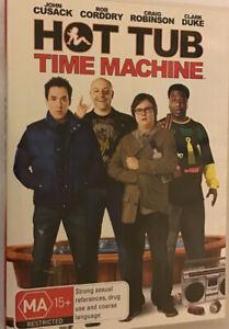 Hot Tub Time Machine (2010) DVD Movie John Cusack - Rob Corddry, R4, Disc Is VGC