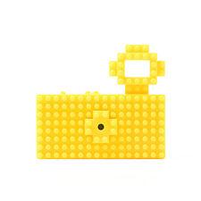 Nanoblock Toy Digital Camera Fuuvi toy customize nano block Yellor