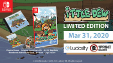 Ittle Dew Limited Edition Nintendo Switch 1Print Games #2 Limited Run LRG Sealed