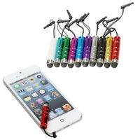 10x Pcs Mini Stylus Screen Touch Pen For iPhone IPad Tablet PC Samsung HTC O3T#