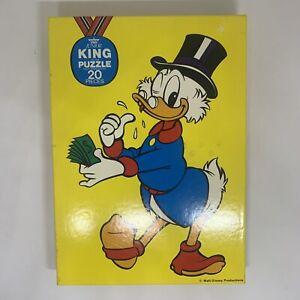 Walt Disney - Donald Duck Vintage Children's 20pc Jigsaw Puzzle (Complete)