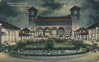 ATLANTIC CITY NJ – Garden Pier Entrance at Night - 1918