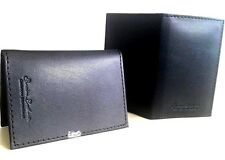 Two Credit Card, Travel Pass, Oyster ID Holder Genuine Leatherite Black