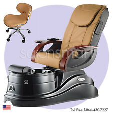 Pipeless Pedicure Salon Equipment Pedi Chair Unit Foot Tub Pacific AX Massage