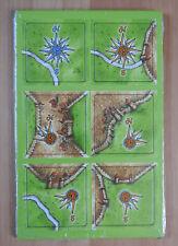 Expansión Carcassonne Mini-windroses II, a estrenar con las normas de inglés