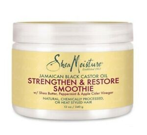 Shea Moisture Jamaican Black Castor Oil Strengthen and Restore Smoothie 12oz
