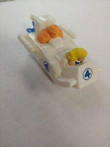 Invisible Woman & Thing w/Ship - KFC Action Figure