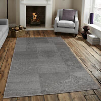 Area rug contemporary, floral  living room Gray