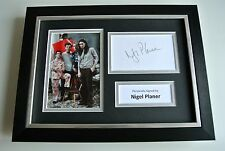 Nigel Planer SIGNED A4 FRAMED Photo Mount Autograph Display TV Young Ones & COA