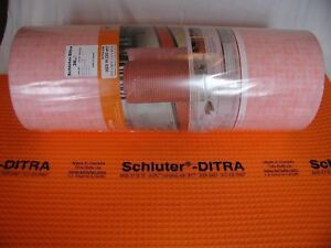 Schluter Ditra Uncoupling Membrane 3 to 323 sf Rolls ~You Pick Size You Need!~
