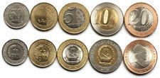 Angola 5 coins set 2011-2012 UNC (#3295)
