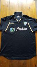 Vintage Malaga Football Shirt 2002/03 Spain La Liga Champions League Real