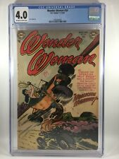 Wonder Woman #56 CGC 4.0 OW/W Pages - Golden Age - Dragster Racing Cover -