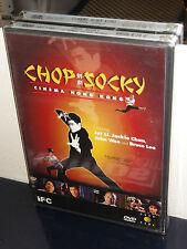 Chop Socky: Cinema Hong Kong (DVD) Jet Li, Jackie Chan, Bruce Lee, John Woo, NEW