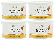 4 Pc GiGi ALL PURPOSE HARD WAX 14 oz (396 g) Hair Removal Professional Use