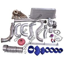 Turbo Kit Manifold Intercooler Downpipe For 86-92 Supra MK3 2JZ-GTE 2JZGTE