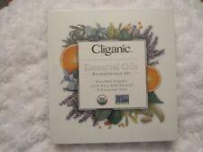 Cliganic USDA Organic Aromatherapy Essential Oils Set 8 Pack 100% Pure Natural