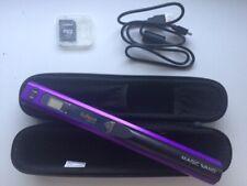VuPoint Magic Wand PDS-ST415-VP Handheld Scanner - Purple