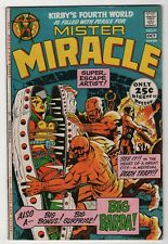 Mister Miracle #4 nice 1st appearance Big Barda 1971 DC giant Jack Kirby art