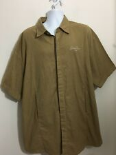 SEAN JOHN Men's Tan Heavy Weight Short Sleeve Shirt Size XXL