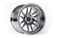 "18"" 18x9.5 ET+10 Cosmis Racing XT-206R Black Chrome Wheels SET 5x4.5 Lancer EVO"