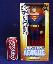 "NEW - 10"" SUPERMAN Figure - JUSTICE LEAGUE - DC COMICS - 2005 Mattel - GOLD BOX"