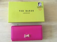 Ted Baker Fuchsia Pink Leather Matinee Purse. BNWT & Gift Box - LAST ONE *******