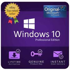 Windows 10 Pro 32/64 bit Genuine License Key Instant Delivery 🔑