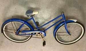 J.C. Higgins bicycle 26 inch wheels Komet coaster brake missing bars/stem