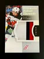 2017-18 Ultimate Collection '07-08 Retro Debut Threads Patch #RDTNH Hischier/25