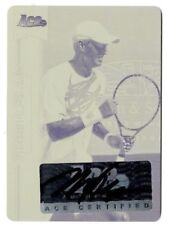 2013 Leaf Ace Authentic Mike Bryan Autographed Yellow Printing Plate #1/1 Tennis