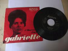 """MARCELLOS FERIAL"""" GABRIELLE-disco 45 giri DURIUM  It 1967"""""""