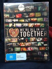 AUS REGION 4 Hillsong United: iHeart - We're All in This Together DVD + CD New