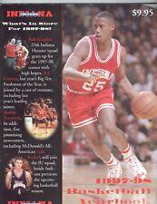 1997-98 Indian Hoosiers Yearbook Bobby Knight NCAA basketball