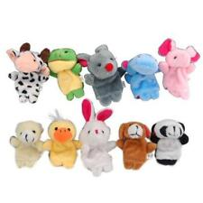 Velvet Finger Animal Toy Puppet Play Learn Story Party Bag Fillers Farm Zoo Doll