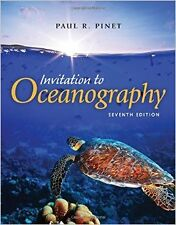 Invitation To Oceanography New Paperback Book Paul R. Pinet