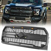 Raptor Style Car Front Bumper Grille Replacement For 2015-2017 Ford F-150 F150