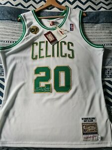 Authentic Ray Allen Mitchell & Ness Celtics Finals Jersey Size 44 L SALE -40%
