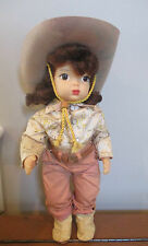 Doll Terri Lee in Original Tagged Western Outfit 1950s in Box 1950s