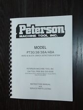 Peterson PT30-PT38-PT38-PT38A-PT48A Pressure Tester Manual
