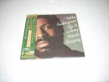 TEDDY PENDERGRASS - LIFE IS A SONG WORTH SINGING - JAPAN CD MINI LP