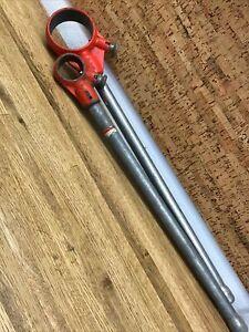 2 RIDGID Manual Ratchet pipe threaders Model 00 & 12 R T2
