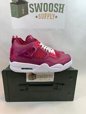 Nike Air Jordan 4 Retro GS SZ 6Y True Berry Rush Pink White 487724-661