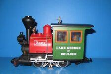LGB Spur G Dampf Lok  Rusty Lake George & Boulder mit LGB MZS Decoder #1333